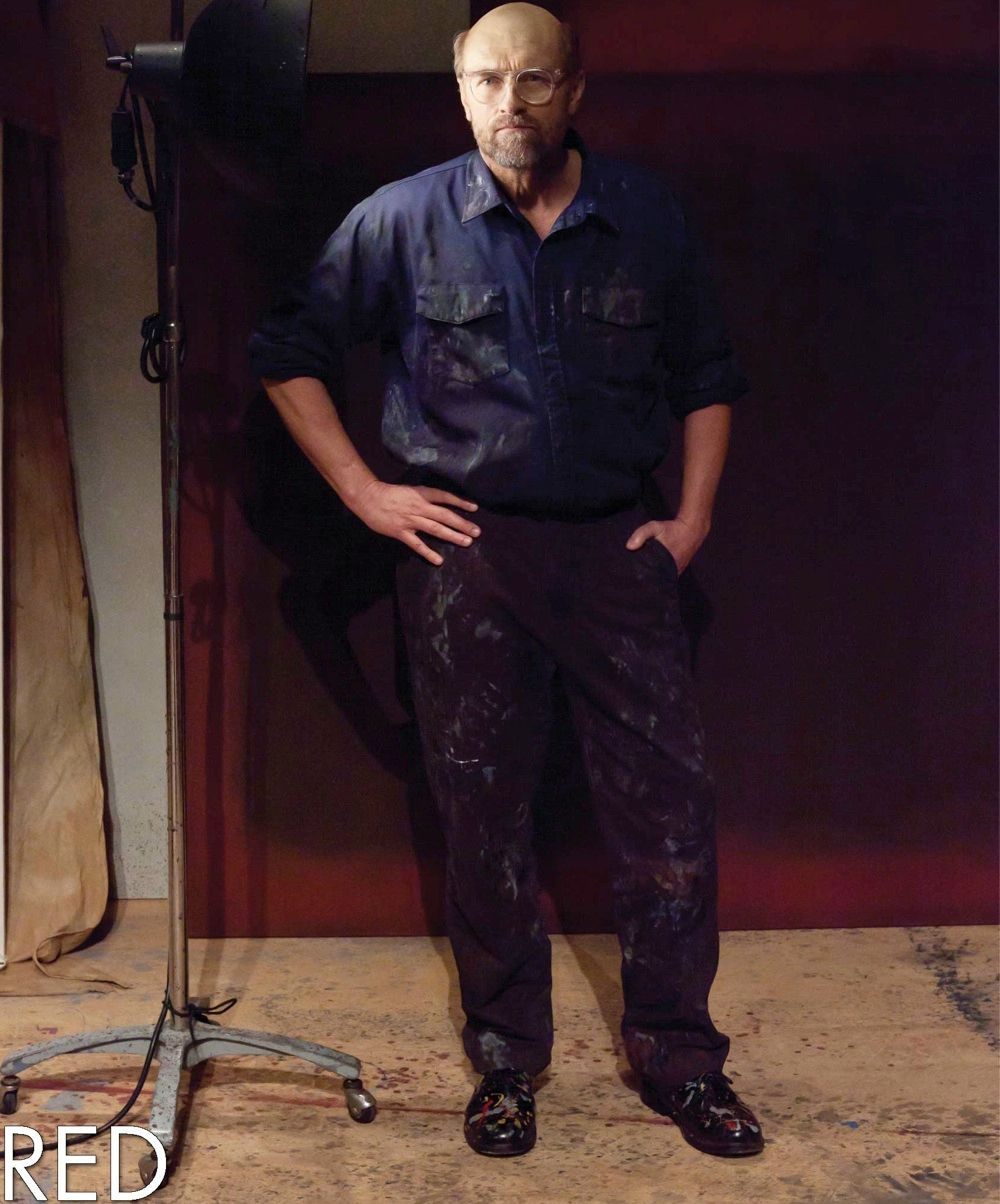 Geordie Johnson as Mark Rothko. Photo by Timothy Richard Photography