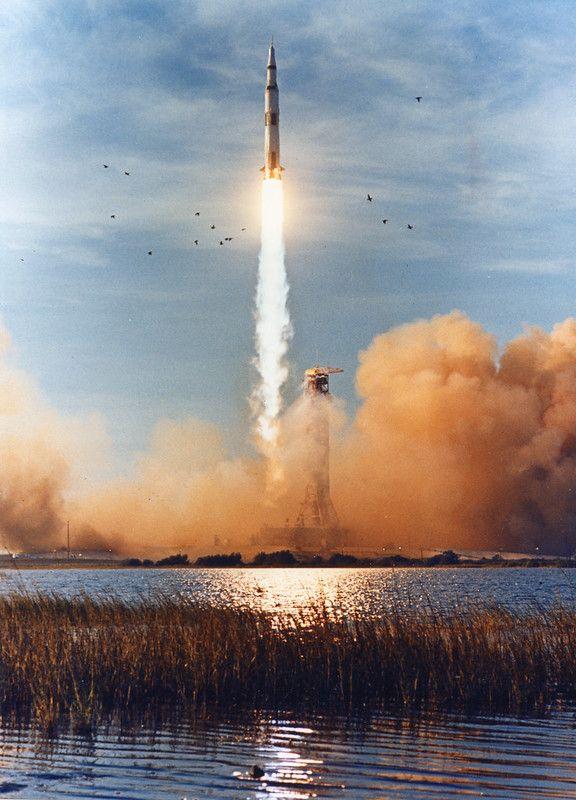 Apollo 8 Liftoff View