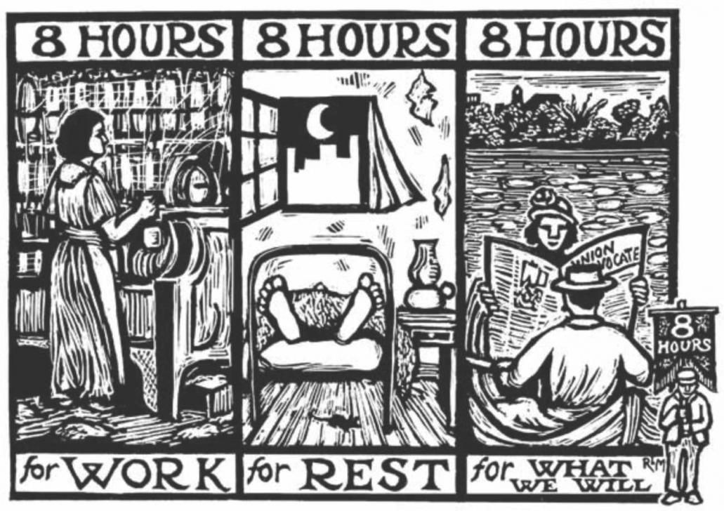 the myth of the 8-hour work day