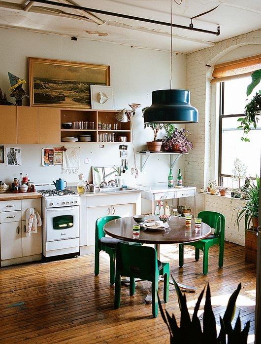 [kitchen] white brick[white]