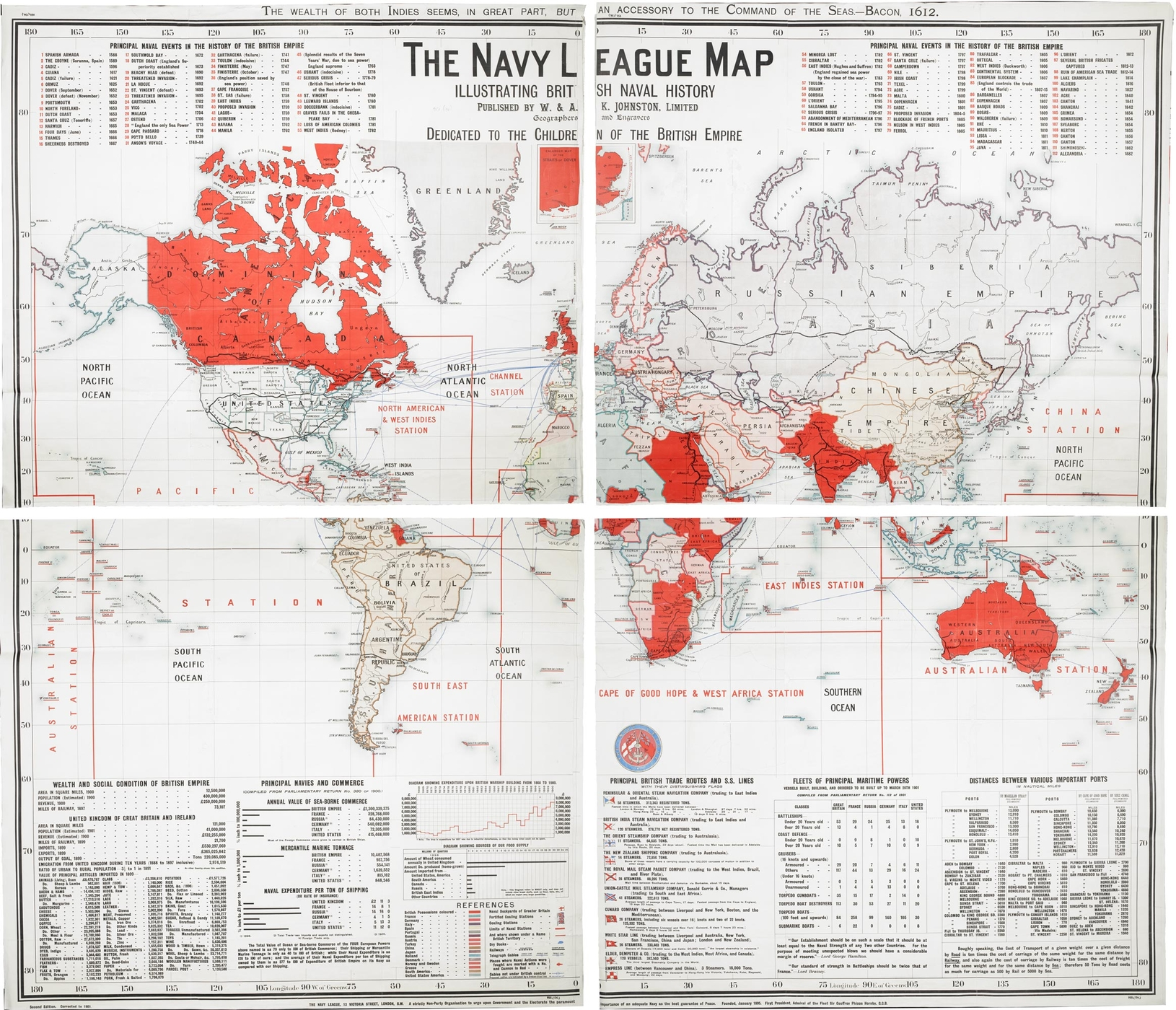 [map] 1The Navy league map