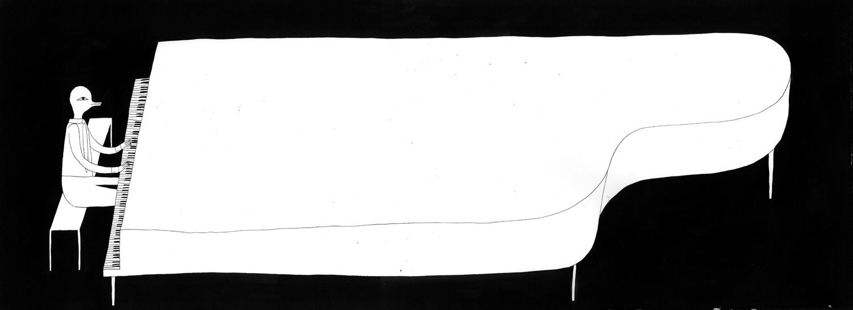 [illustration] piano