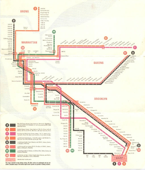 [map] [new york] [subway] Design Work Life » cataloging inspiration daily