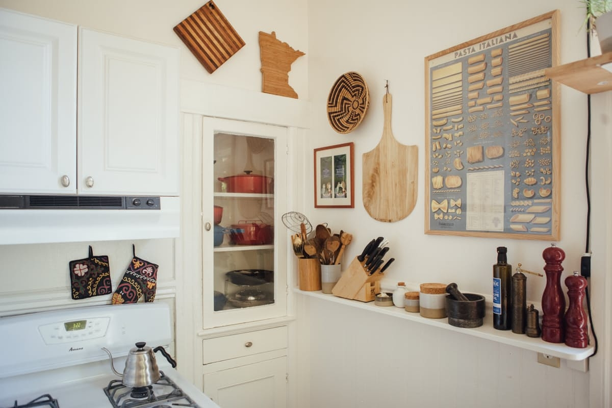 [kitchen] long shelf