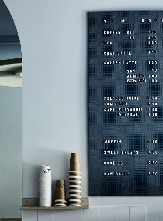[kitchen] sign board