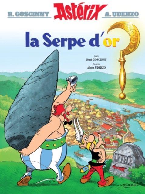 Astérix – La Serpe d'or