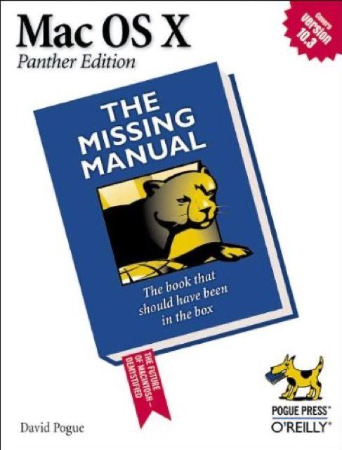 Mac OS X: The Missing Manual