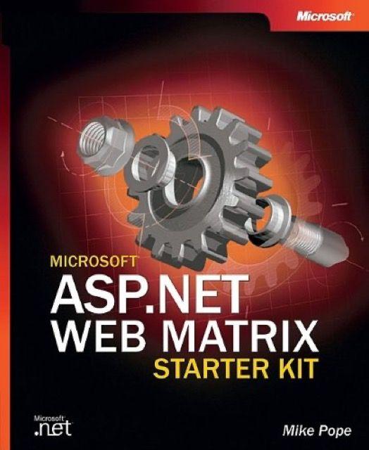 ASP.NET Web Matrix Starter Kit