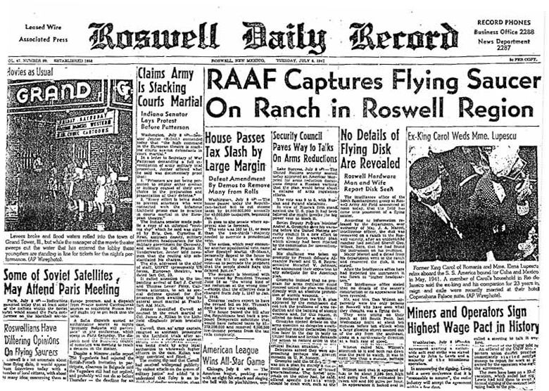 Roswell Daily Record, 1947-07-08