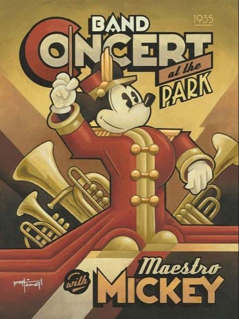 Mickey Mouse Bandconcert
