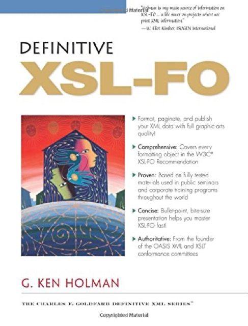 Definitive XSL-FO