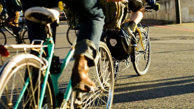 Pre-lockdown cycling in London. Picture: TfL - Credit: Martin Breschinski