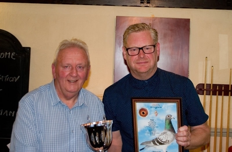 Jeff Walton & Nick Adshead - J Walton & Son winners of 1st Fougeres Nat & 3rd highest prize winners