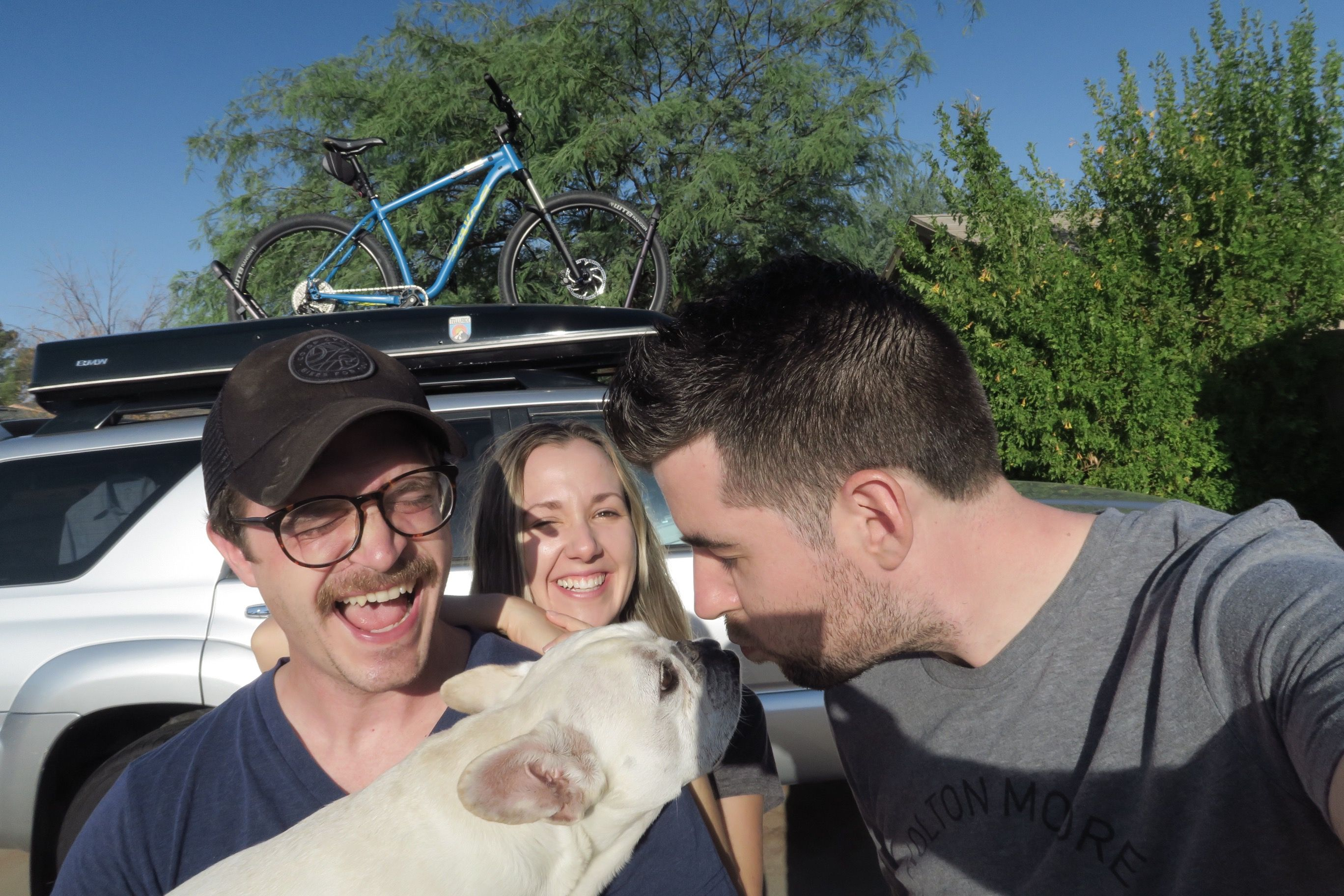 Austin, Rachel, and Mr.Willoughby in Phoenix