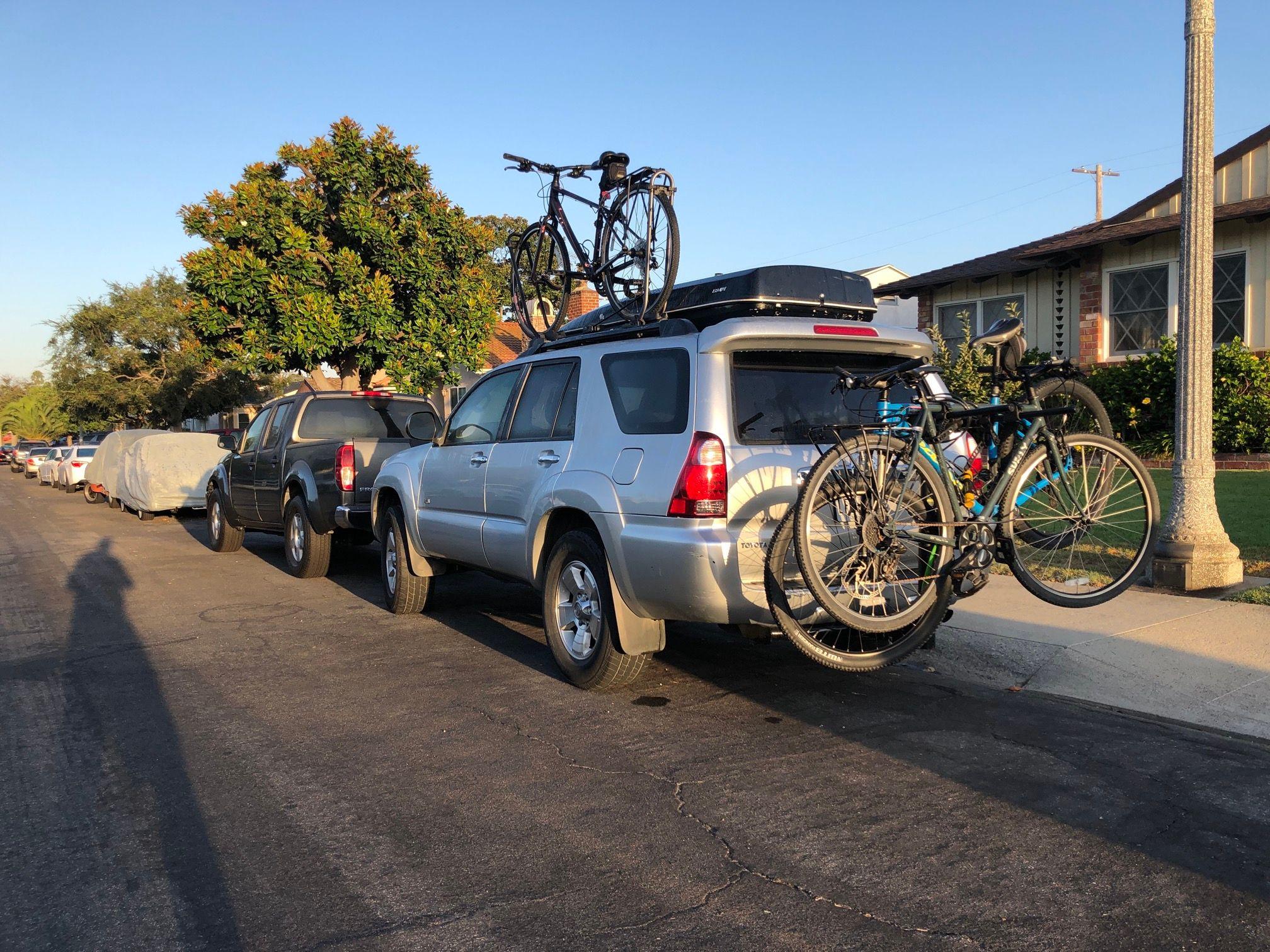 Bikes on the 4Runner