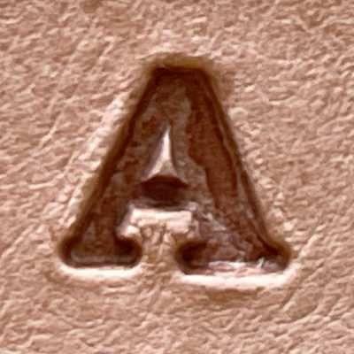 1-4 serif letter
