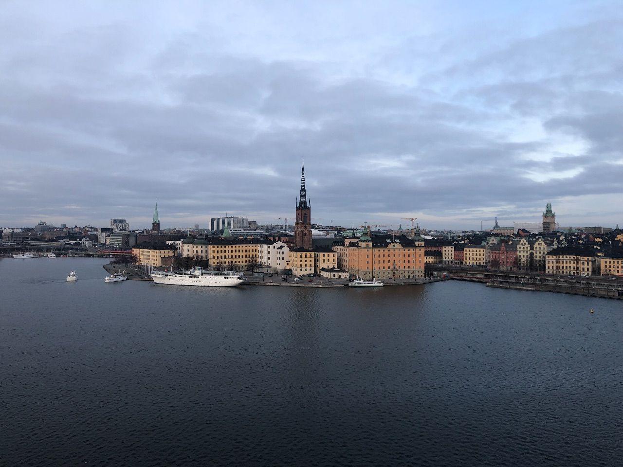 Stockholms stadshus januari 2021.