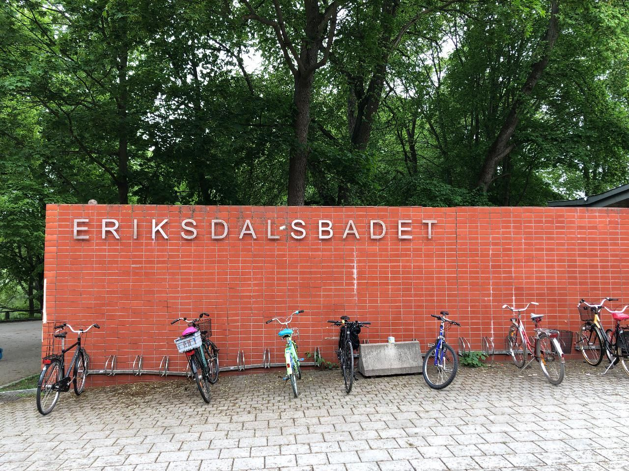 Eriksdalsbadet, Södermalm, Stockholm.