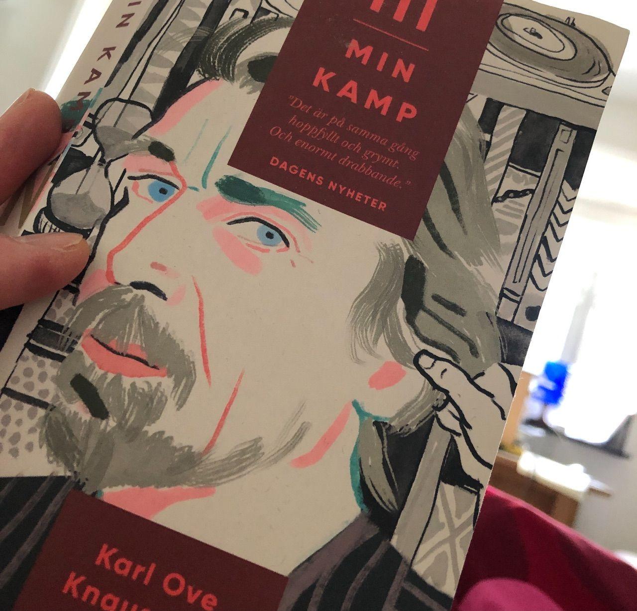"Karl-Ove Knausgård ""Min kamp 3""."
