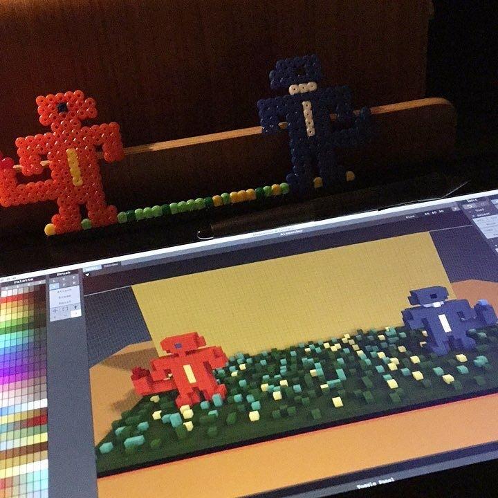 Work in progress. Re-creating Alexander's bead plate in 3D...