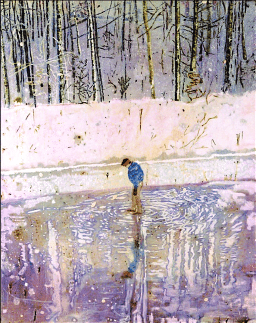 Blotter, by Peter Doig
