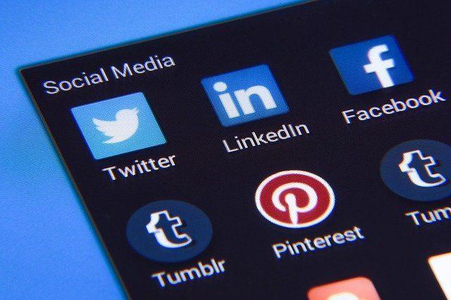 sosyal medya ikonları…
